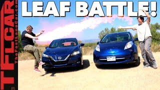 2017 Nissan Leaf vs 2018 Nissan Leaf: What's New and What's Not