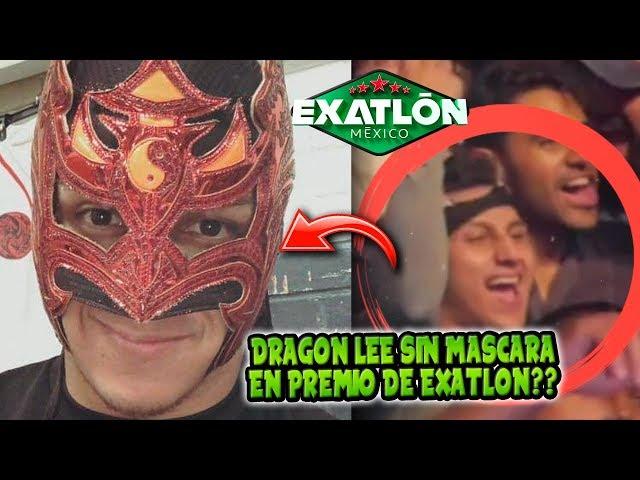 EXHIBEN A DRAGON LEE SIN MASCARA EN EXATLON!! Y ÉL NI SE A ENTERADO