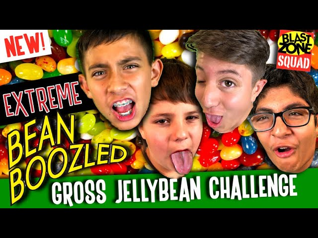 NEW Bean Boozled Challenge! Beyblade Burst and Gross Jelly Bean Game! #1