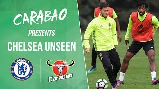 Chelsea unseen: hazard gets nutmegged, chalobah wrestles our cameraman and so many skills!