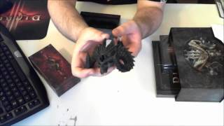 Diablo III sběratelská edice - unboxing