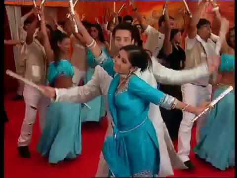 tere mere hoton pe + dandiya dance