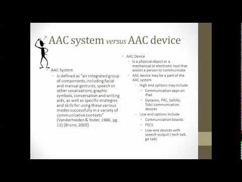 Augmentative and Alternative Communication (AAC) | Fairfax