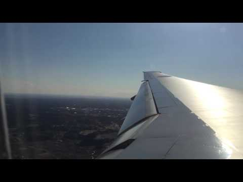 ANA 777-200ER All Nippon Boeing Landing Tokyo NRT - Economy Class