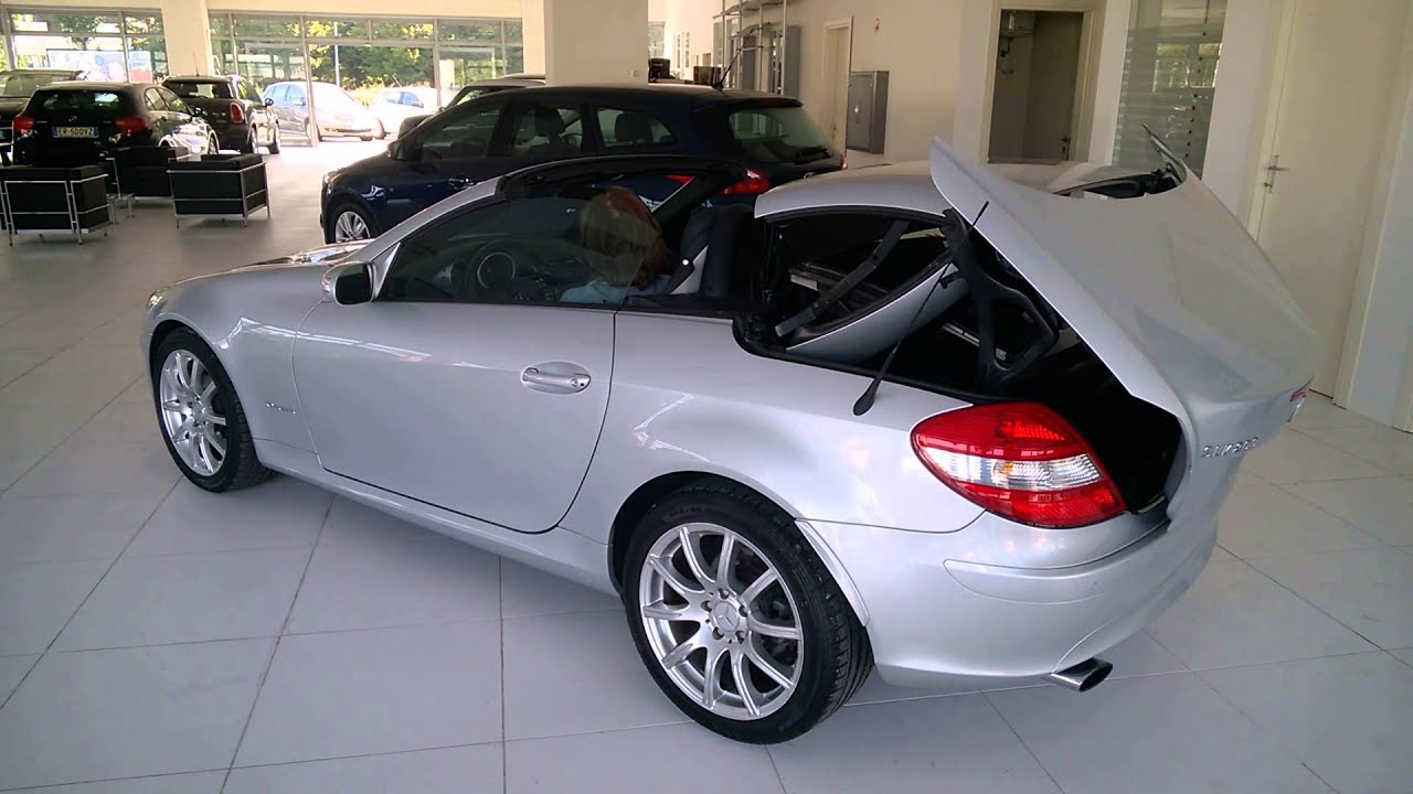 mercedes slk 200 cabrio youtube