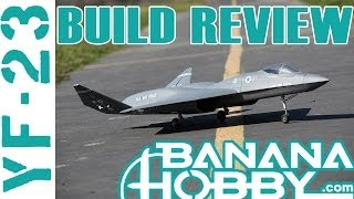 YF-23 BlitzRCWorks | Build Review | EDF Fighter Jet