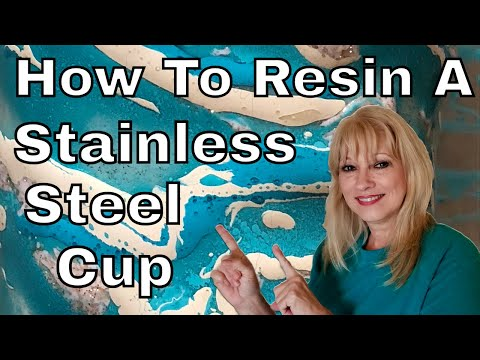 How to Resin a Stainless Cup