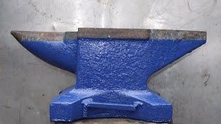 Кузнечная наковальня,нашёл то, что искал))))(Наковальню купил в пункте приёма металлалома по цене 10 руб за кг. Состояние отличное.Вообще в этих пунктах..., 2014-09-15T14:34:43.000Z)
