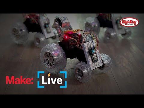 Make: Live - Swarm Bots