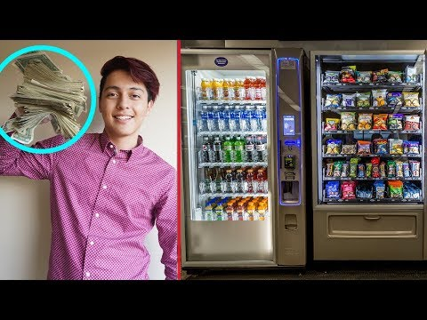 My BIGGEST COLLECTION Ever!!! // Vending Machine Business