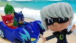 Kinder Video mit PJ Masks. Luna Girl und die Pyjamahelden