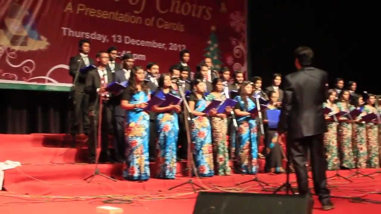 A Ray Of Hope Christmas Carol by New Delhi YMCA Choir Hindi ...