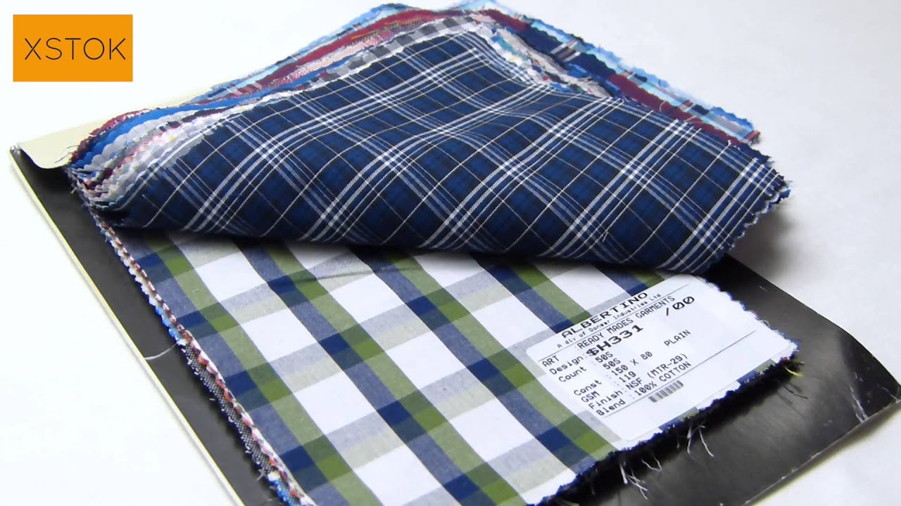 Donear Shirting Fabric - Checks & Stripes | XSTOK