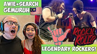 SEARCH FT WINGS - GEMURUH LIVE   REACTION! 🤟🇲🇾