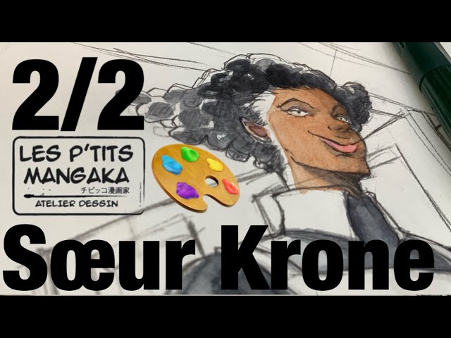 Les p'tits mangaka X Sœur Krone - The Promised Neverland [Drawing Clip] 2/2