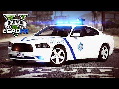 GTA 5 - LSPDFR Ep154 - Arkansas State Police Patrol