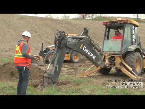 Heavy Equipment Operator Training - Corporate Training Services - Durham College