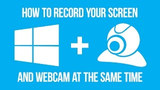 How to record your screen and webcam at the same time