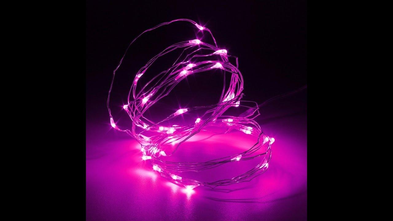 Купите новогодние электрические гирлянды с доставкой. Каталог. Электрогирлянда на батарейках 20 led ламп, прозрачный провод. Артикул:
