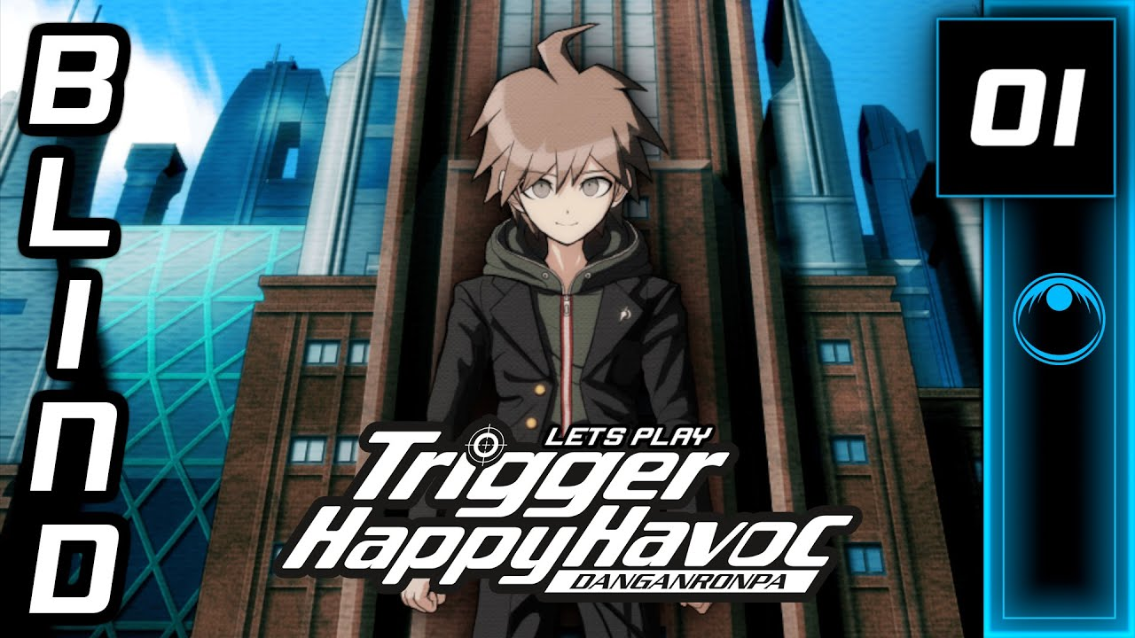 Lets Play | Danganronpa: Trigger Happy Havoc #01 - Hello, New Friends!