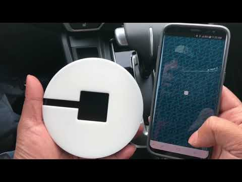 Uber beacon unboxing review and install