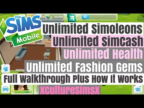 The Sims Mobile - Unlimited Money Cheat Plus Unlimited SimCash, Health And More | July 26