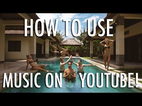 HOW TO USE MUSIC ON YOUTUBE - COPYRIGHT FREE!!