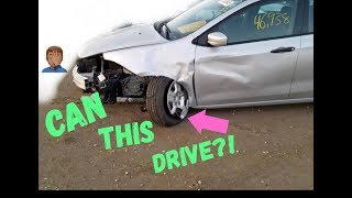 Driving my salvaged car for the first time | Part 3