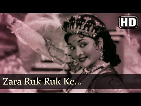 Zara Ruk Ruk Ke HD  Aasha Songs  Kishore Kumar  Vyjayantimala  Pran  Filmigaane