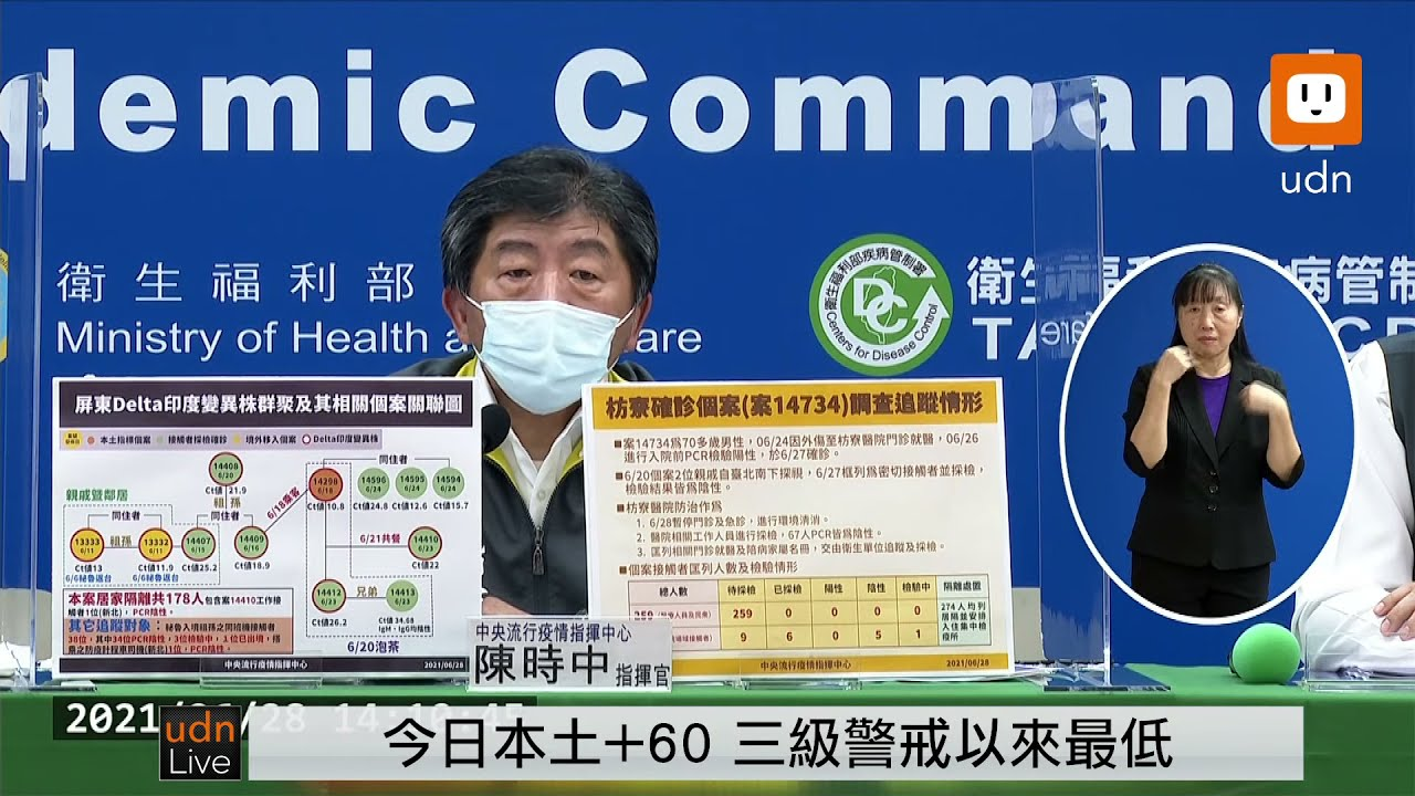 Download 0628全台第三級警戒 疫情指揮中心記者會