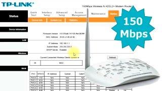 TP-LINK TD W8151N налаштування ADSL2+ маршрутизатор