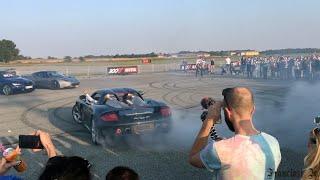 BURNOUT, DONUTS & DRIFT - PORSCHE CARRERA GT 2005