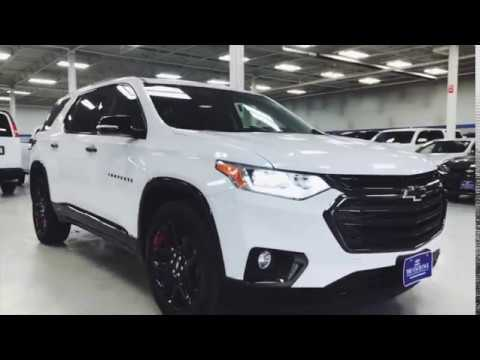 c928a6ae142 2018 Chevy Traverse Redline Edition in Summit White - YouTube