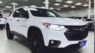 2018 Chevy Traverse Redline Edition in Summit White