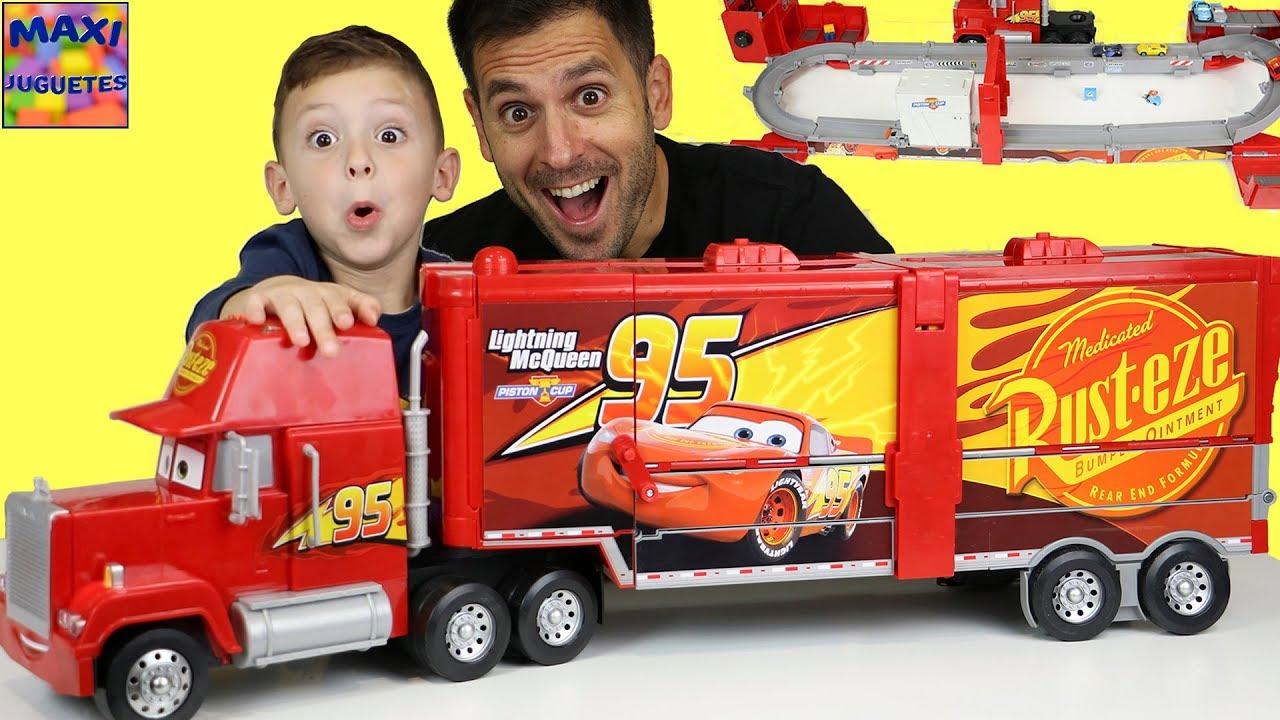 Camion de cars supermega mack youtube - Cars camion mack ...