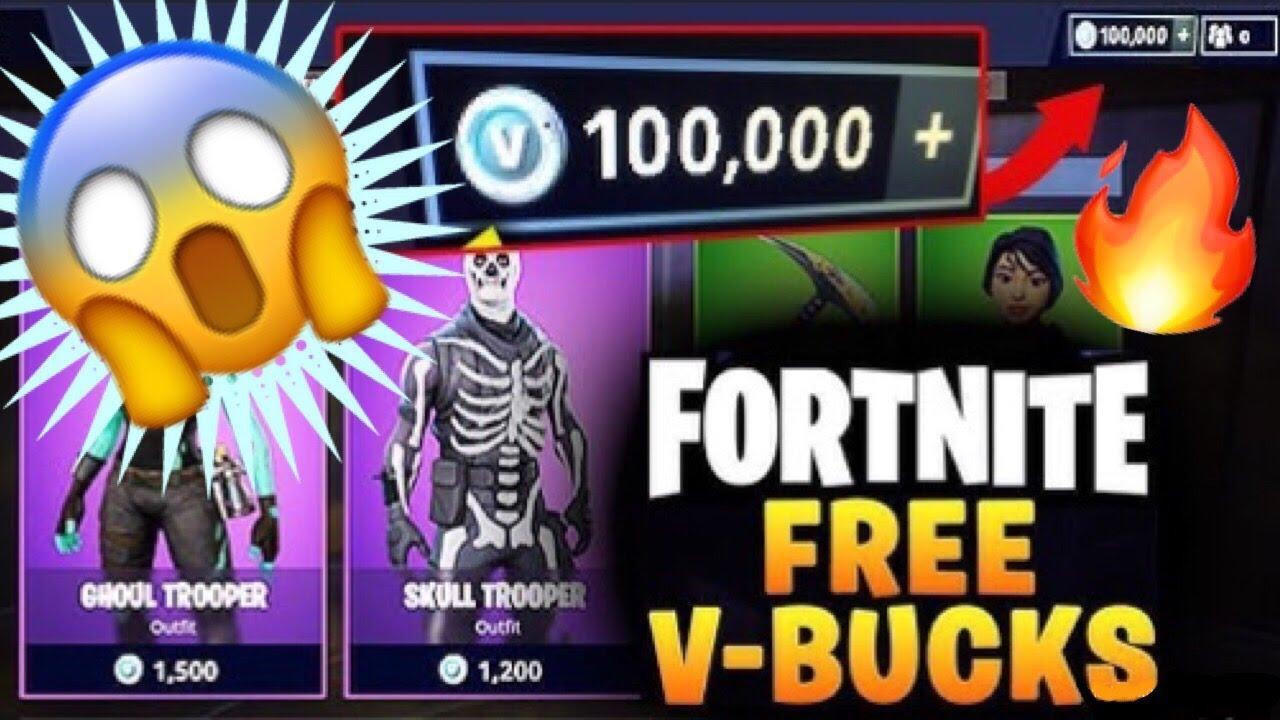 Fortnite Hack 2018 - How To Get Free V Bucks - V Bucks ...