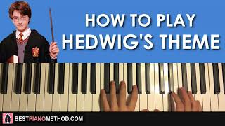 HOW TO PLAY - Harry Potter - Hedwig's Theme (Piano Tutorial Lesson)