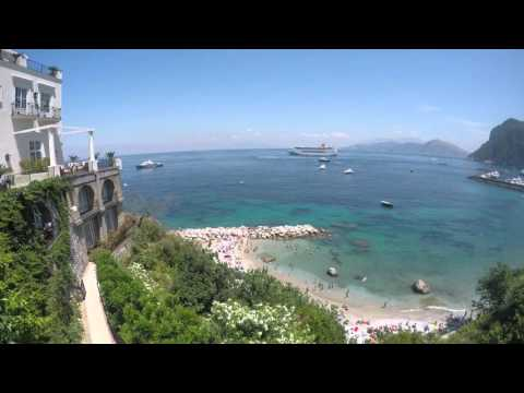 Discovering Italy - Naples and Capri in 4K