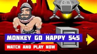 Monkey GO Happy: Stage 545 — Martian Chocolate · Game · Walkthrough