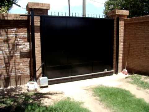 PORTOP!!! Porton Corredizo de Hierro y Chapa Lisa - www.portop.com.ar / Cel.: 03487-15-508095
