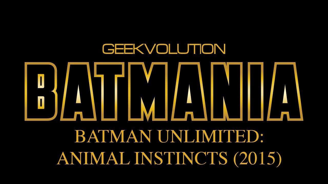 Animal Instincts Movie Watch Online batmania day 26 | batman unlimited: animal instincts