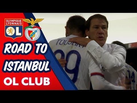 [INSIDE] OL / SL Benfica – ROAD TO ISTANBUL | Olympique Lyonnais