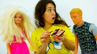 ЗНАКОМСТВО С РОДИТЕЛЯМИ: Барби подбирает наряд. Кен НЕУДАЧНО пошутил над Барби. Видео для девочек