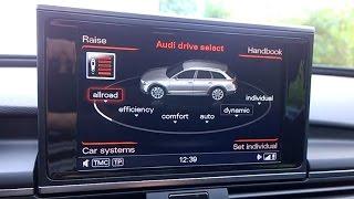 Audi A6 Allroad, MY2012 - how low can it go? - kako nizko se lahko spusti?