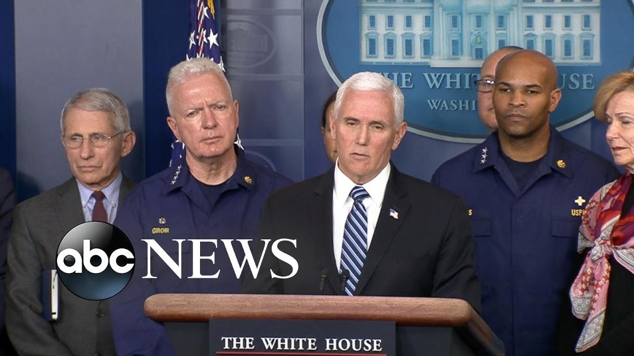 Vice President Pence speaks at COVID-19 briefing