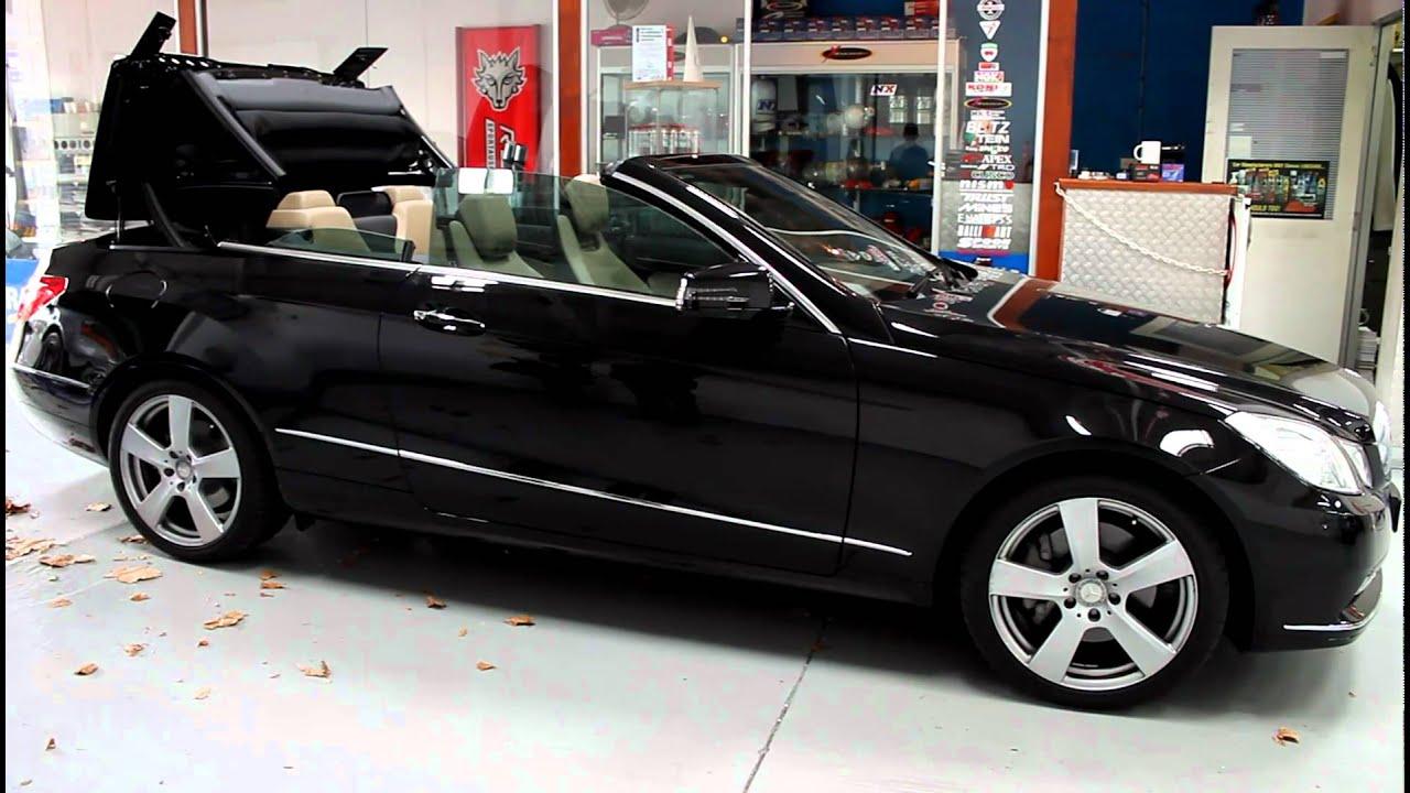 Mercedes e class convertible operation youtube for Mercedes benz convertible tops