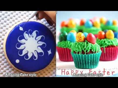 DIY - Amazing Cupcakes and Mini Cakes Decorating Style - The most satisfying video #7