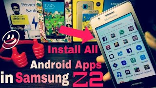 Download lagu How to download android app in Samsung z2