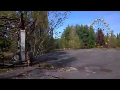 Stroll Through Pripyat site of Chernobyl Nuclear Disaster