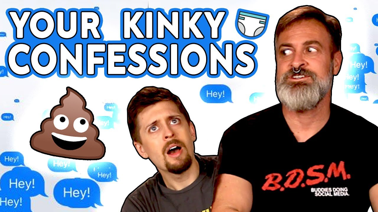 REACTING TO YOUR KINKY CONFESSIONS